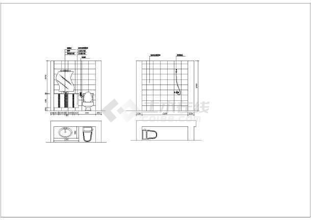 某别墅室内精美装修建筑施工CAD图纸-图1