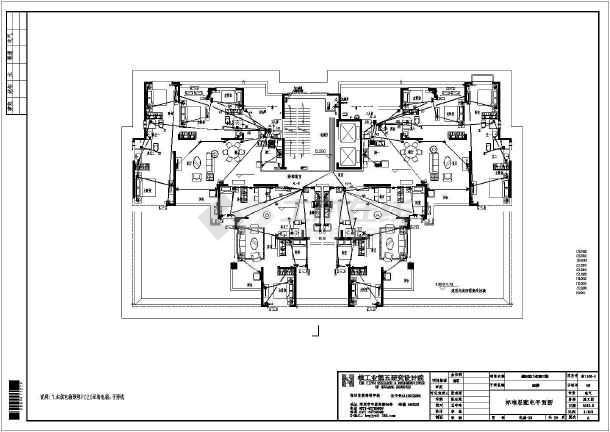 [河南]32层商住楼电气施工图-图2