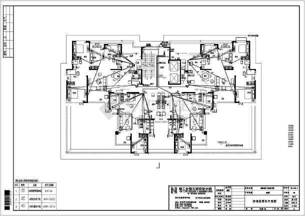 [河南]32层商住楼电气施工图-图3