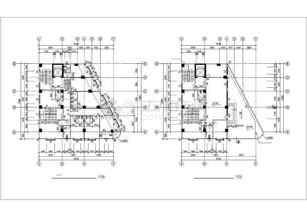某地私宅建筑设计方案图-图2