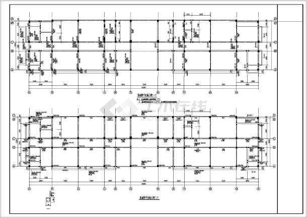 某5层办公楼结构设计图-图3