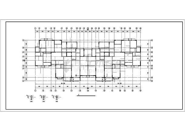 某十三层框剪住宅结构施工图-图2