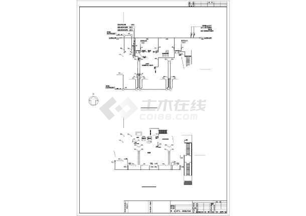 安徽公租房给排水图纸-图1