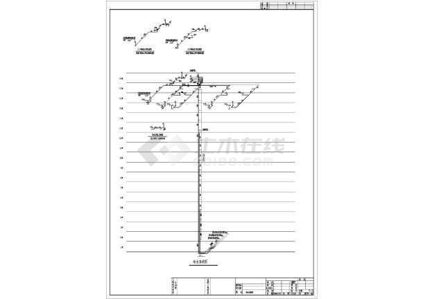 安徽公租房给排水图纸-图2