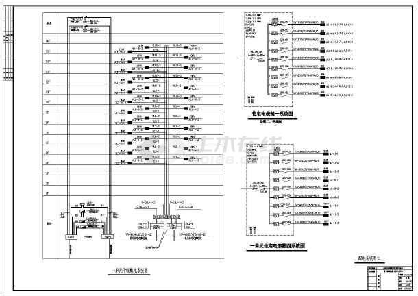 [江西]16层高层住宅电气施工图-图3