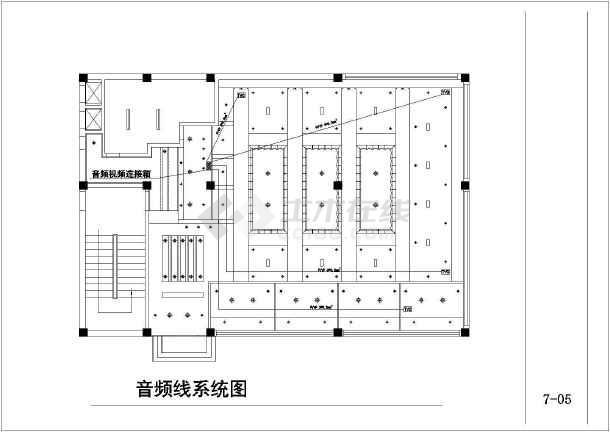 高档咖啡厅电气设计施工图-图3