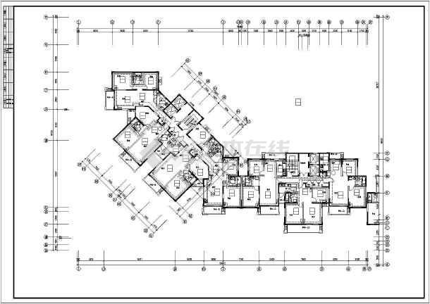 某住宅楼采暖图纸-图1