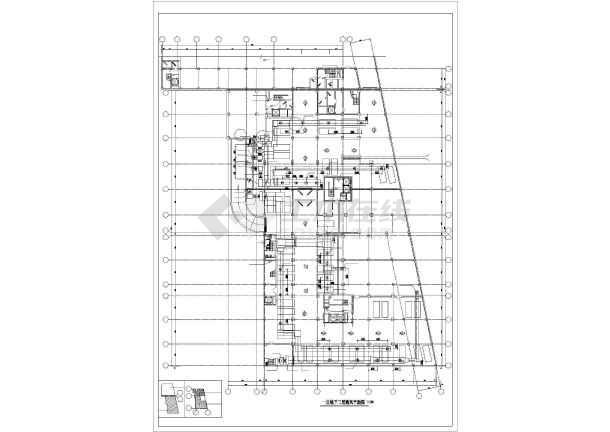 北京某综合楼暖通空调图纸-图1