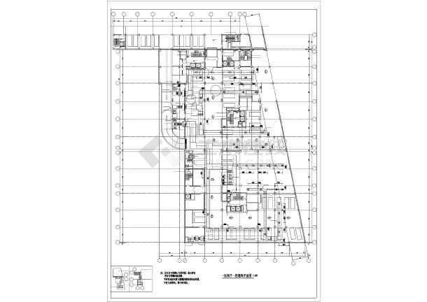 北京某综合楼暖通空调图纸-图2