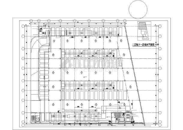 北京某综合楼暖通空调图纸-图3