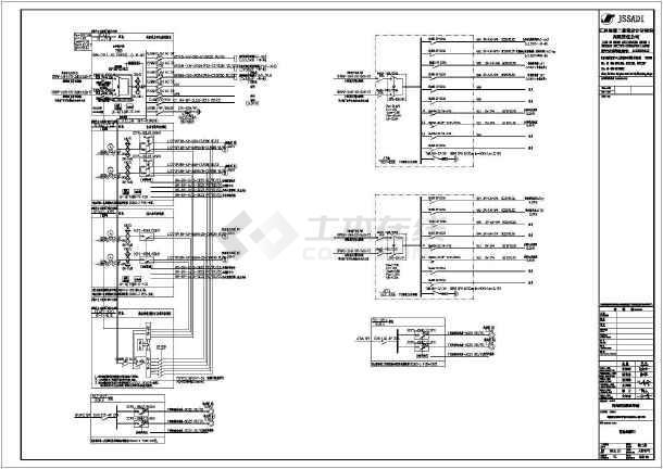 [海南]职业学院地下人防工程电气施工图-图1