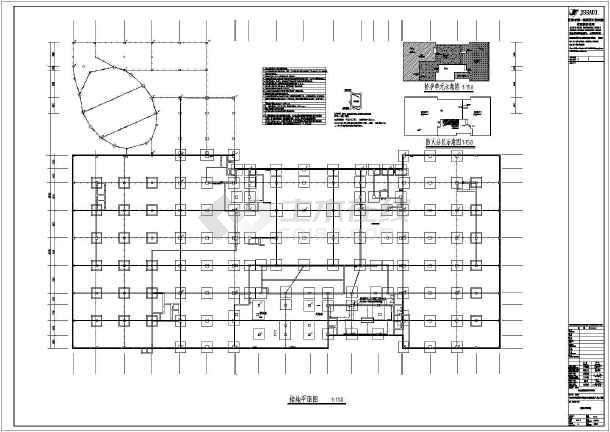 [海南]职业学院地下人防工程电气施工图-图3