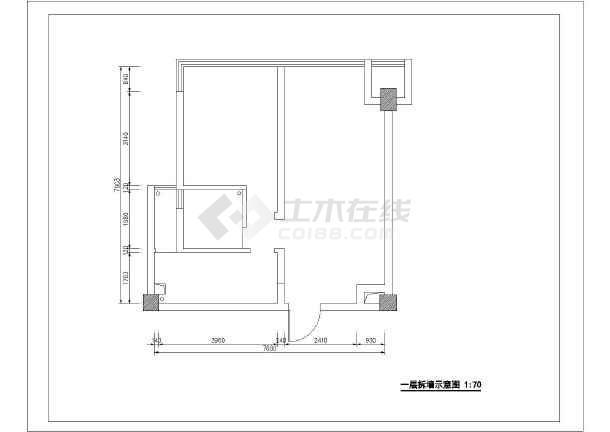 欧式别墅装修设计图(含效果图)-图1