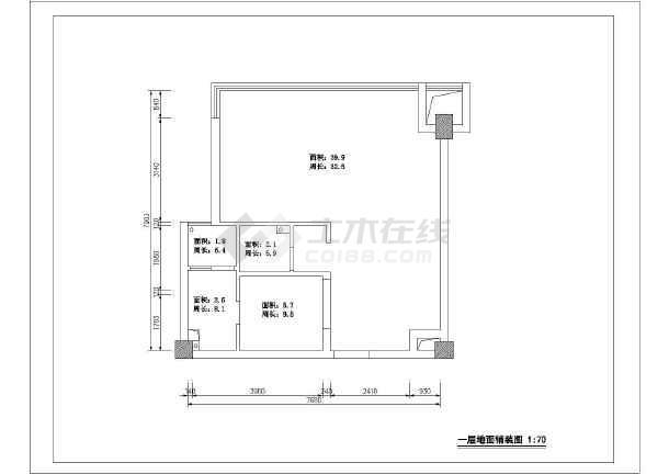欧式别墅装修设计图(含效果图)-图2