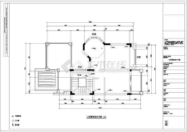 某欧式多层别墅装修设计图-图2
