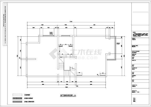 某欧式多层别墅装修设计图-图3