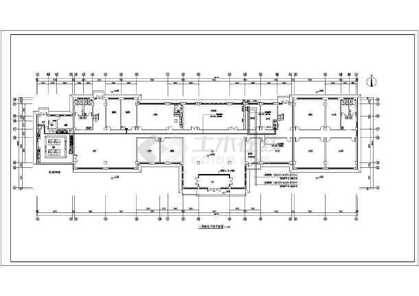 [内蒙古]海关监管办公楼电气全套施工图(甲级院)-图1