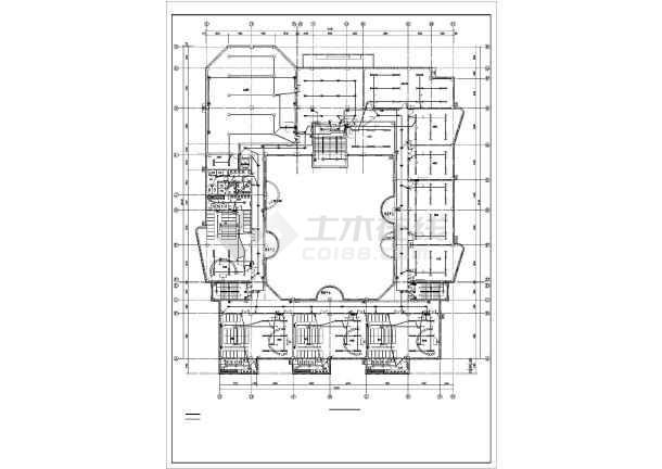 某四层幼儿园电气全套施工图-图2