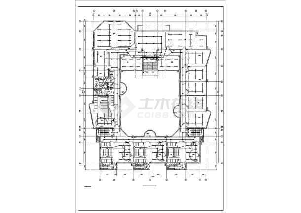 某四层幼儿园电气全套施工图-图3