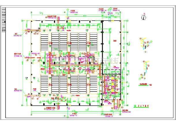 回用水项目V型滤池施工图纸-图1