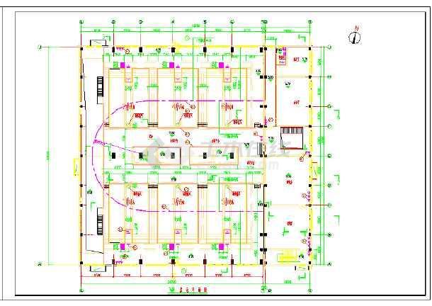 回用水项目V型滤池施工图纸-图2