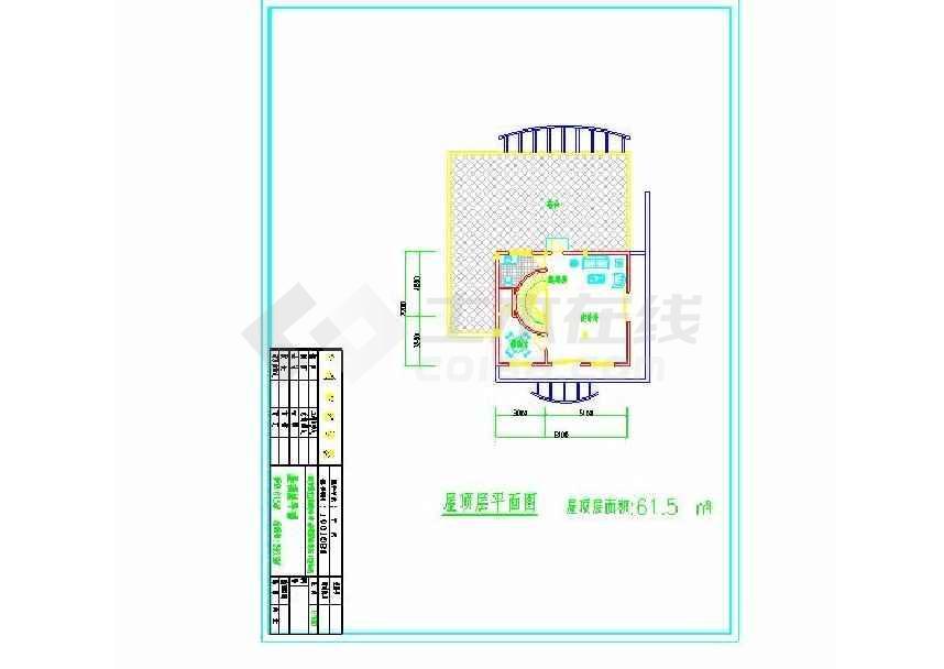 简约的别墅建筑方案图-图2