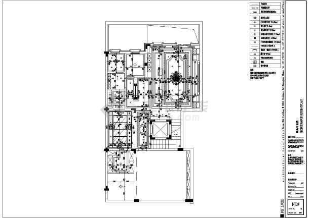 欧式小别墅全套装修设计图-图3