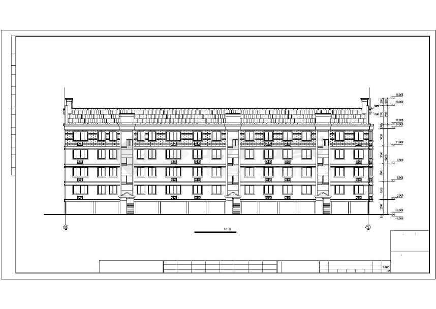 一套简单的住宅建筑施工图-图2