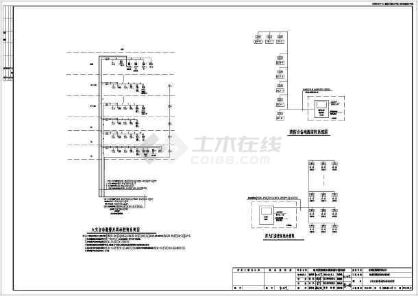 [黑龙江]一类高层住宅楼电气施工图-图1
