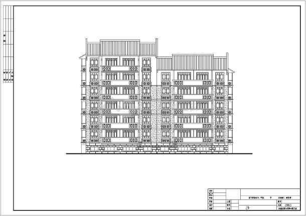 某市住宅楼建筑设计方案图-图1
