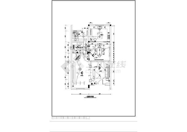 某新型别墅电气设计图CAD图纸-图1
