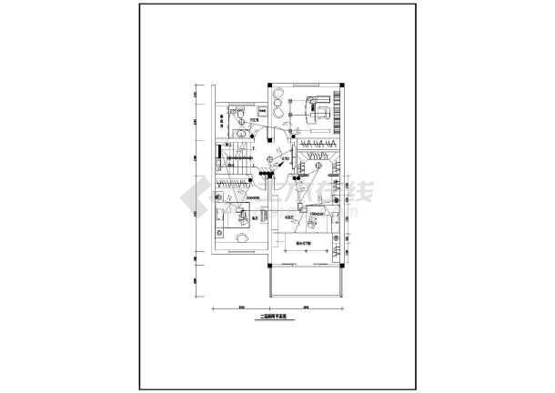 某新型别墅电气设计图CAD图纸-图2