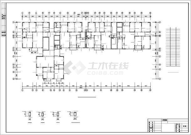某18层高层剪力墙住宅结构设计图-图1