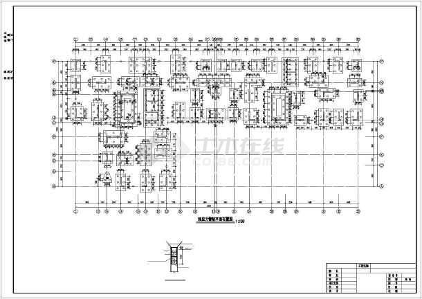 某18层高层剪力墙住宅结构设计图-图2