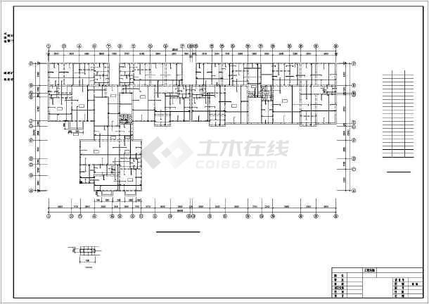 某18层高层剪力墙住宅结构设计图-图3