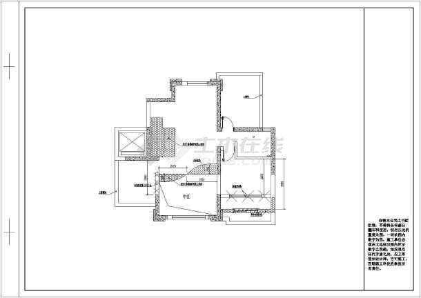 复式欧式别墅全套装修设计施工图-图3