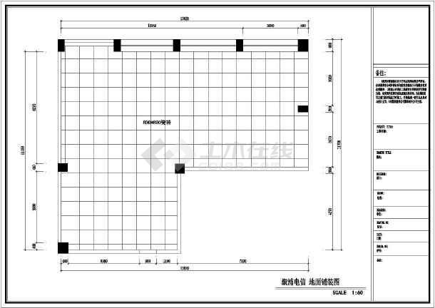 手机门店全套装修设计施工图-图2