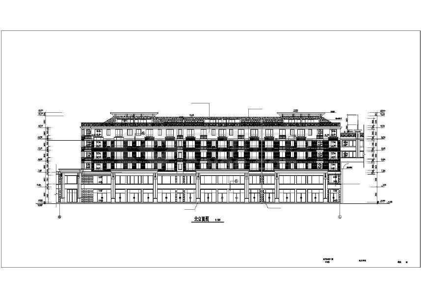 比较受欢迎的一套完整的住宅建筑施工图-图2