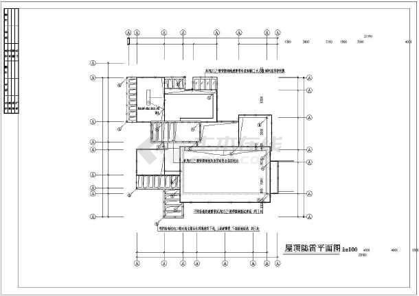 某新式别墅电气设计图CAD图纸-图1
