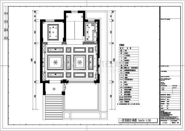 欧式独特别墅全套装修设计图-图1