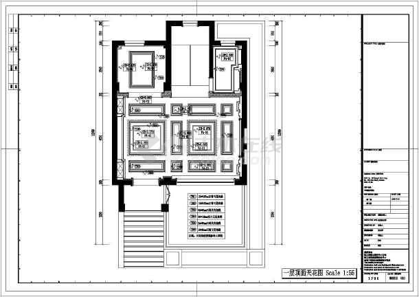 欧式独特别墅全套装修设计图-图3