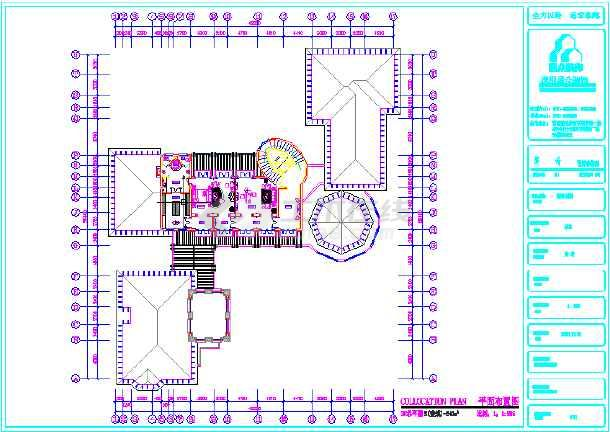 某3层别墅平面布置图-图2