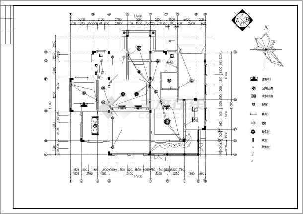 整套欧式别墅设计装修图-图1