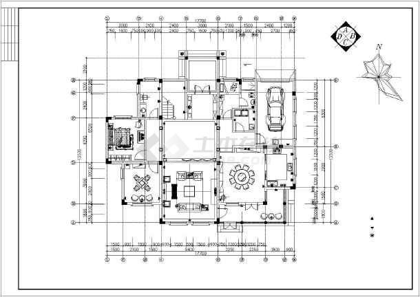 整套欧式别墅设计装修图-图3