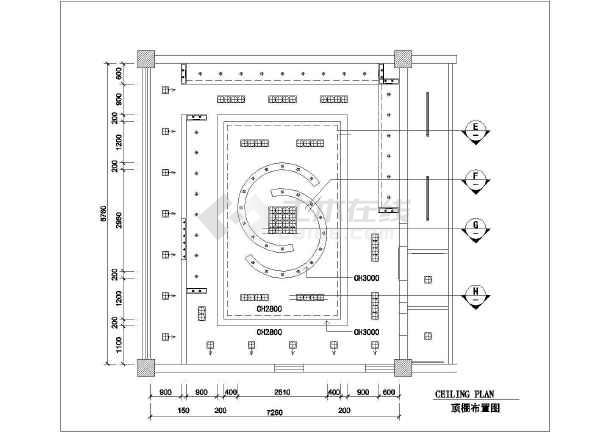 高档服装店全套装修设计施工图-图1