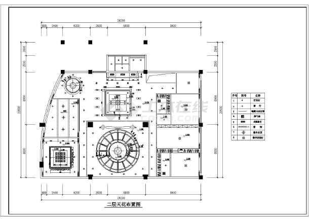 某精美别墅装修建筑设计CAD图纸-图1