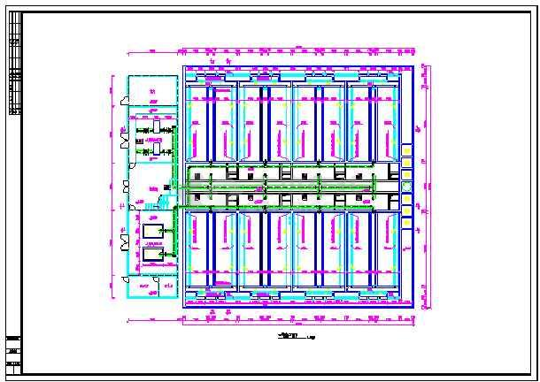某地污水厂V型滤池设计图纸-图2