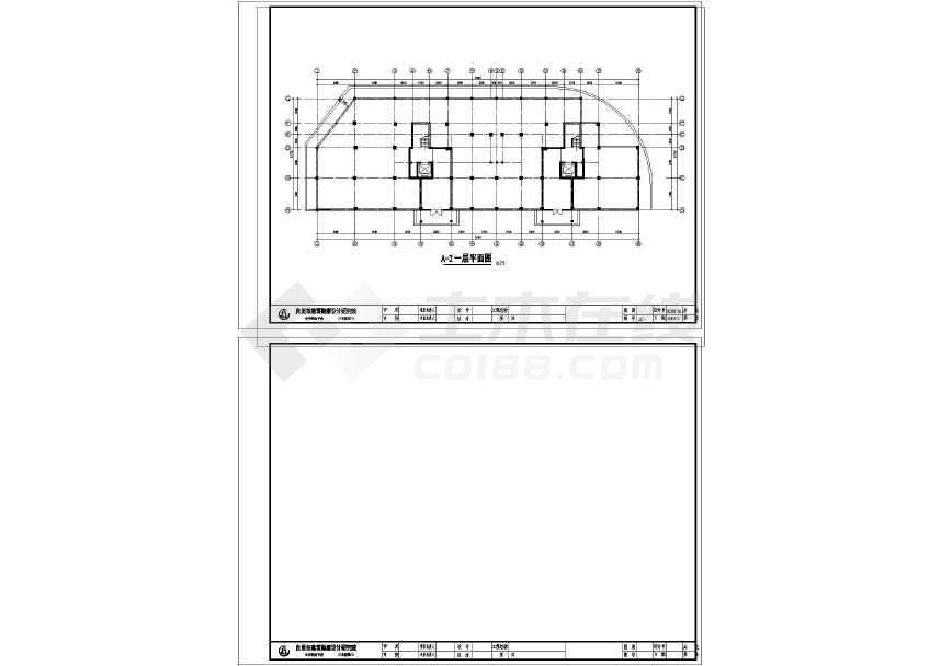 某地住宅小区建筑设计图-图1