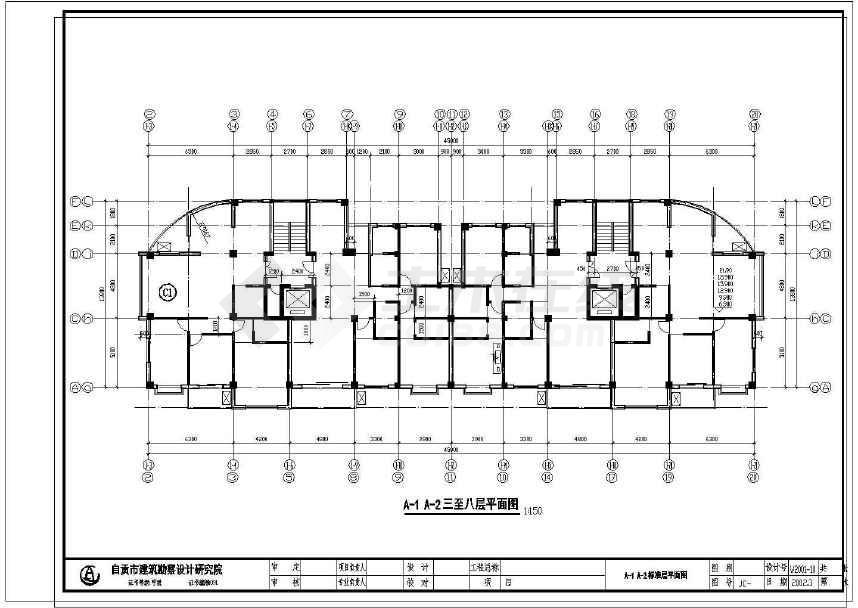 某地住宅小区建筑设计图-图2
