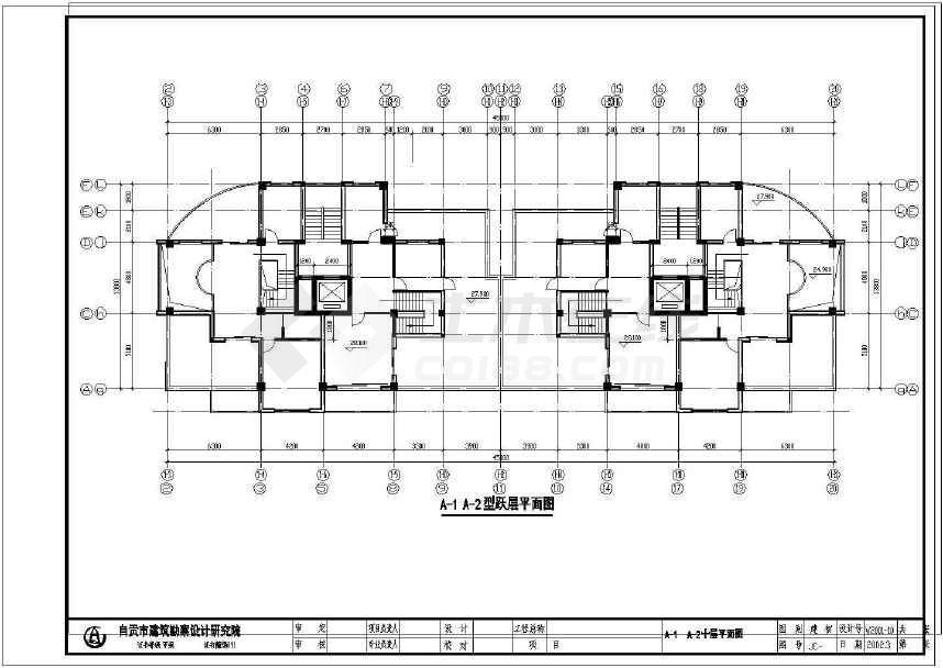 某地住宅小区建筑设计图-图3